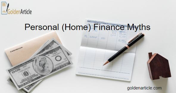 finance myth